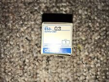 OMRON OUTPUT E53-Q3 NEW IN BOX