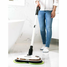 The Cordless Power Mop And Floor Polisher ELICTO dusts, scrubs, and polishes
