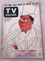 1962 TV Guide October 13 Jackie Gleason Captain Kangaroo Merv Griffin Shore PITT