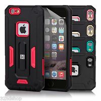 32nd Hard Defender Dual-Layer Shockproof Case Cover for Apple iPhone 6/6S Plus
