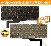 "Apple MacBook Pro Retina 15"" A1398 Keyboard UK Layout 2012 - 2015 - No Backlight"