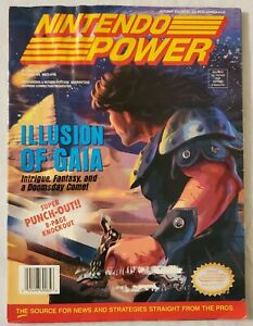 Nintendo Power vol. 65 October 1994 with poster and trading cards