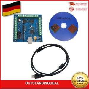 4-Axis 100KHz USB CNC Controller Card Smooth Stepper Motion Control For MACH3 DE
