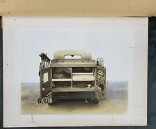 Antique Telephone Truck Ohio license plate Real Photograph