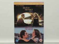 Dvd Vg+ Before Sunset & Before Sunrise Ethan Hawke Julie Delpy Limited Box/✰50