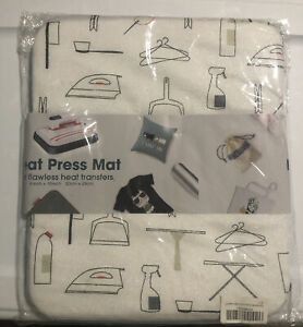 Heat Press Mat, Protective Heat (8in X 10in) New With Tag