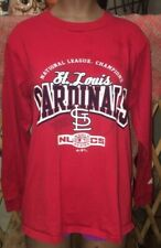 St Louis Cardinals National League Champs 2006 Med Long Sleeve Athletic T-shirt
