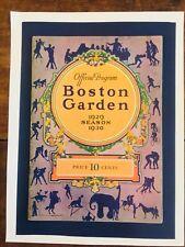 1929-30 CHICAGO BLACK HAWKS vs BOSTON BRUINS NHL HOCKEY PROGRAM AT BOSTON GARDEN