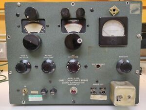 Boonton Direct Capacitance Bridge Model 74-CS1