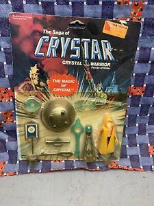 THE SAGA OF CRYSTAR MAGIC CRYSTAL SET OGEODE 1982 Remco Toy Box Lot Action