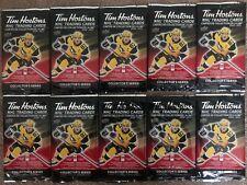 20-21 TIM HORTONS HOCKEY CARDS 10 SEALED NEW UNOPENED PACKS RELICS? GRETZKY ?
