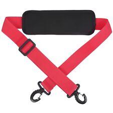 Replacement Shoulder Strap Padded Sling Hook Bag Packs Laptop Bag Red Durable