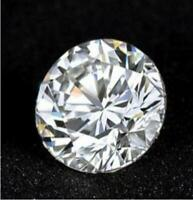 1.16CT Natural 7mm White Diamond G-H Color Round Cut VS1 Clarity Stunning