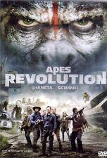 DVD APES REVOLUTION IL PIANETA DELLE SCIMMIE ANDY SERK