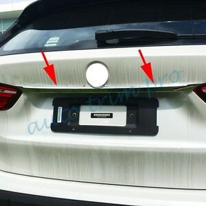 Chrome Moulding Tail Trunk Lid Cover Trim For BMW F48 X1 2016-2020 Accessories
