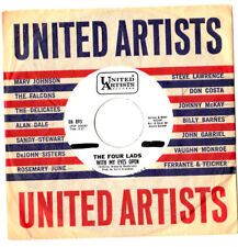 """""""RARE DEMO"""".FOUR LADS.WITH MY EYES OPEN / I'M NOT A RUN AROUND.U.S.ORIG 7"""".EX"""