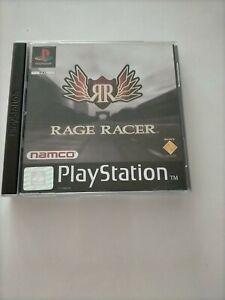 RAGE RACER NAMCO PS1 SONY PLAYSTATION 1 complet boîte et notice