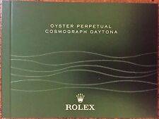 Rolex Oyster Perpetual Cosmograph  Daytona Owners Instruction Manual Booklet