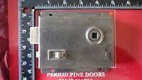 L225 Reclaimed Old Victorian Rim Lock / Door Latch