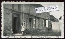 Villeneuve-la-Lionne ( Marne ) 51310 .  Maison Briquet . Juin 1945