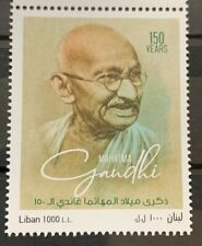 Lebanon 2019 Mahatma Gandhi India Indian theme Stamp MNH