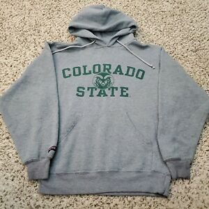 Vintage 1990s Colorado State College Jansport Hoodie Size Mens Small