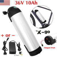 36V 10Ah Lithium E-Bike Battery for Electric Bicycle Bottle Resistant-water US