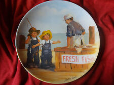 Fish Story Friends I Remember Series by Jeanne Down Knowles Plate Collection