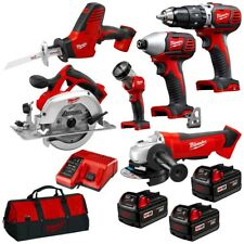 Milwaukee M18BPP6A-303B 18V 3.0Ah Li-ion Cordless 6pce Combo Kit -Free Shipping-