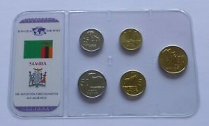 Zambia coin set 1992, The money of the World