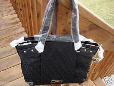 New/ Tag DKNY T&C Signature Logo Black Shoulder /Tote Bag.$250.00.100%Authentic