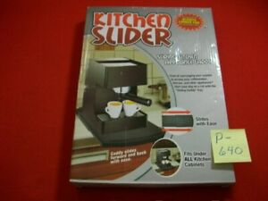 BRAND NEW KITCHEN SLIDER-SLIDING KITCHEN APPLIANCE CADDY-PROTECT YOUR COUNTERS