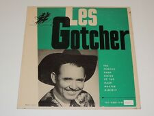 LES GOTCHER the famous hash series by the hash master himself Lp BLUE RECORD