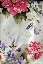 "Wildflower Pastel Floral Spring Decor Tablecloth 60""x84 OVAL Feminine Chic Flair"