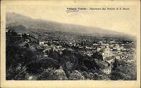 Vittorio Veneto frankierte AK 1925 Panorama dal Tempio di S. Rocca Gesamtansicht