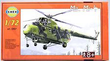 SMER MIL Mi-4 russischer Militär-Transporthubschrauber, Bausatz 1:72