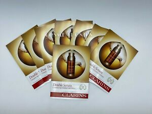 Clarins Double Serum Complete Age Control Concentrate 30 Packets Total