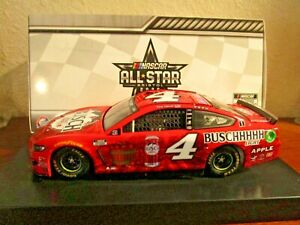 2020 Kevin Harvick #4 BRISTOL ALL-STAR RACE 1/24 AUTOGRAPHED SIGNED CAR. APPLE.