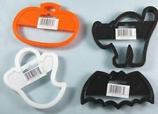 Halloween Assorted 4 pc Cookie Cutter Set each approx. 4-1/2 inch form Wilton
