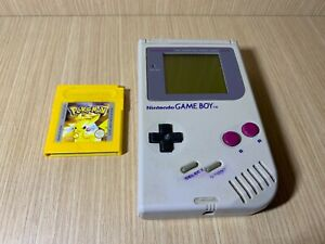 Consola Nintendo Game boy clasica + Pokemon Amarillo ESPAÑOL