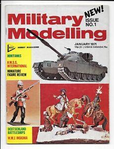 Military Modelling De N0. 1, Premier De , Rare, Jan 1971 IN Fin Moins Pour FN