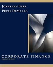 Corporate Finance by Peter DeMarzo and Jonathan Berk (2010, Hardcover)