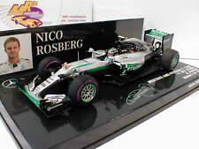 Minichamps 417160306 - Mercedes F1W07 Hybrid No.6 Monaco 2016 N.Rosberg 1:43