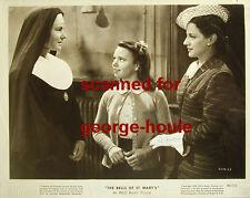Leo Mccarey - 8X10 - Scene Still - The Bells Of St. Mary'S - Inscribed - Aa