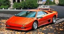 Lamborghini Diablo VT, Revell Auto Modèle De Kit De Montage 1:24, 07066