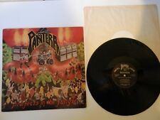 PANTERA LP Projects In The Jungle SIGNED  Band DIMEBAG 1984 Rare Metal Magic