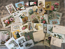 More details for bundle no6 antique victorian christmas cards