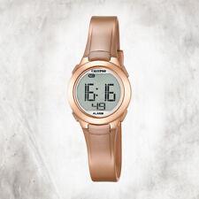 30e11af2f36f Calypso Plástico Puro Reloj de Mujer K5677 3 Pulsera Oro Rosa Digital  UK5677 3