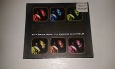 THE VERY BEST OF CURTIS MAYFIELD CD INC MOVE ON UP & SUPERFLY
