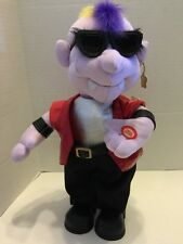 "Singing Dancing Vampire Halloween Animated Sunglasses 14"" Plush"